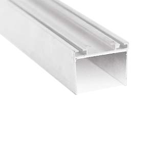 Profil bas et haut, épaisseur panneau 40 mm