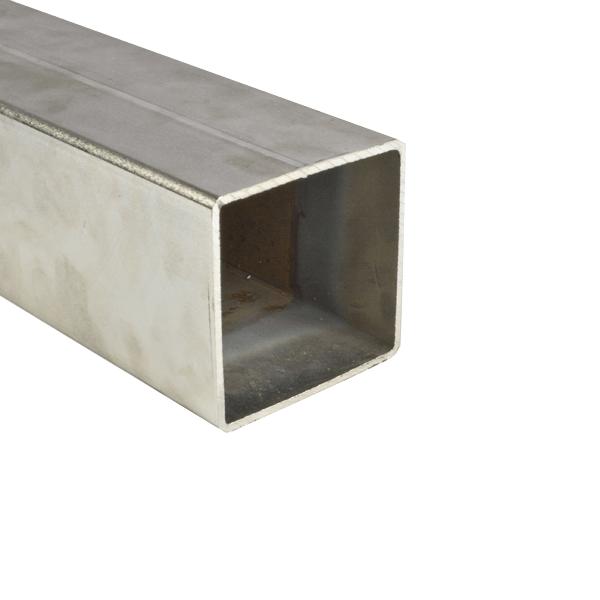Box profile, 100x100mm