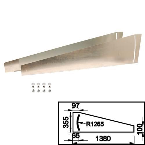 Trittschutz/ Fussschutz Spalt Überladebrücke