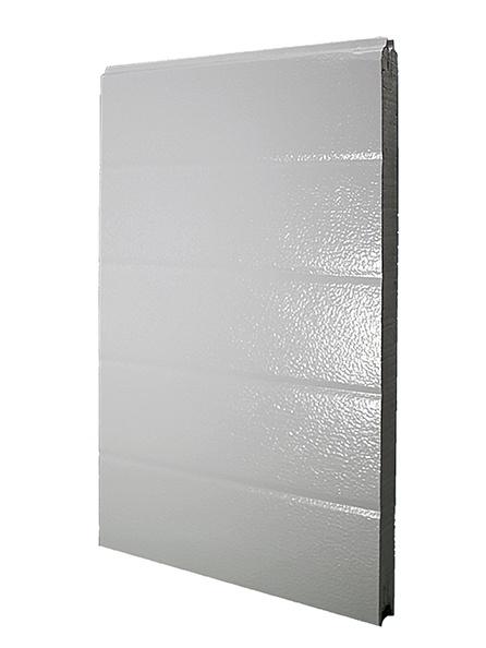Deurpaneel 40x610mm, stucco/glad