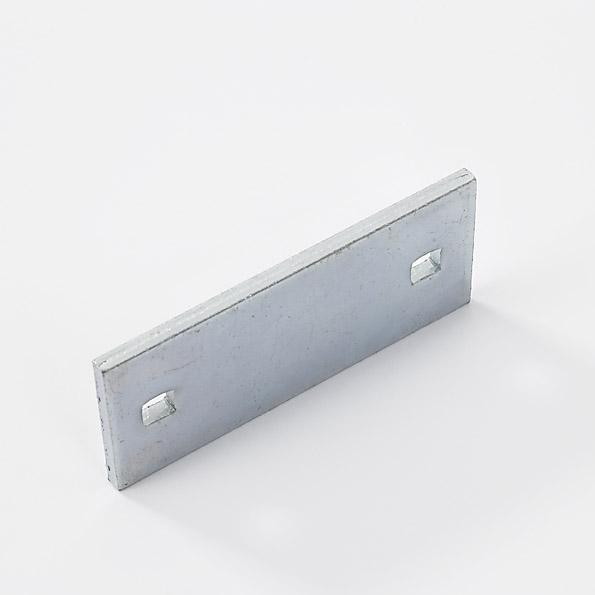 Paro-klemplaat 95x45mm, dubbel