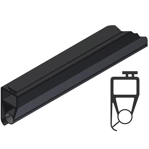 Bodengummi geeignet für Hörmann SPU 30/40 - 25 Meter