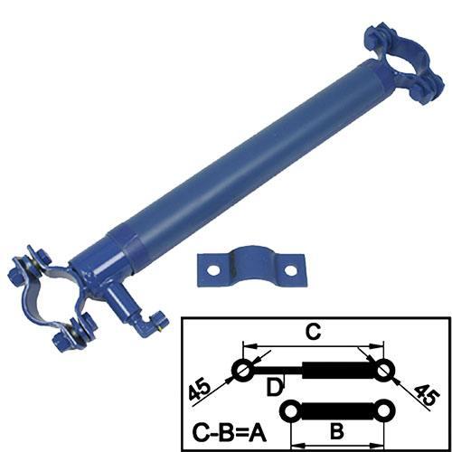 Crawford/Hafa Hydraulikzylinder Plattform Hublänge 305mm.