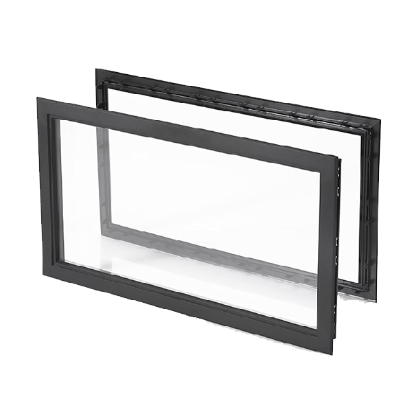 Window 638x373mm, panel thickness 40-45mm