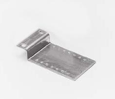 Montageplaat veerbumper in looprails