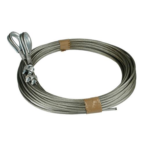 Staalkabelset 5,5mm, geschikt voor Hormann industriedeuren, L=12000mm