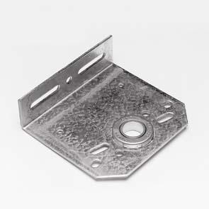 Middenlagerplaat, 1 inch, 127mm