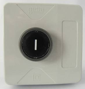 GEBA pushbutton, 1 button