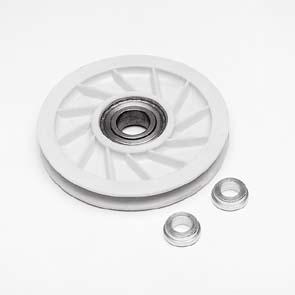Seilumlenkrolle Nylon Durchmesser 90mm