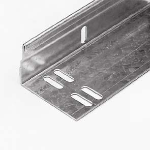 Winkelprofil, vertikal, verzinkt, max Länge = 6500mm