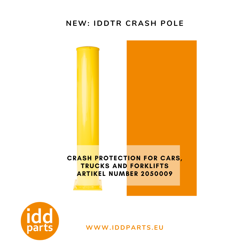 New crash pole