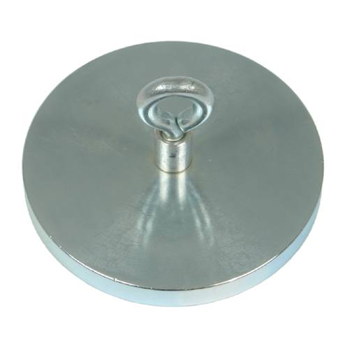 Armature plate for adhesive magnet