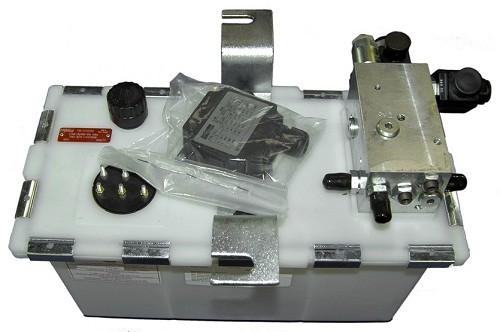 Hydraulic power unit, 2 valves, 0,75KW
