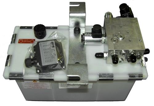 Hydraulic power unit for teledock, 2 valves, 1,5KW