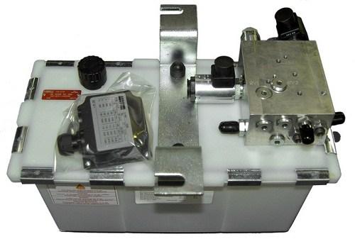 Hydraulikaggregat, 2 Ventile, 1,5KW