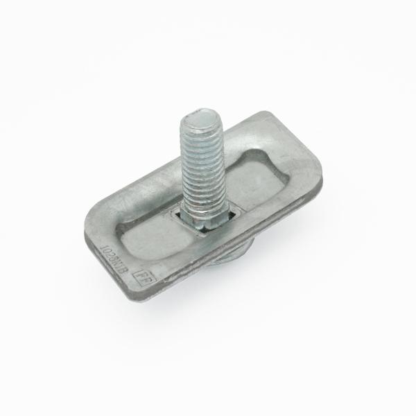 Paro-klemplaat 25x53mm
