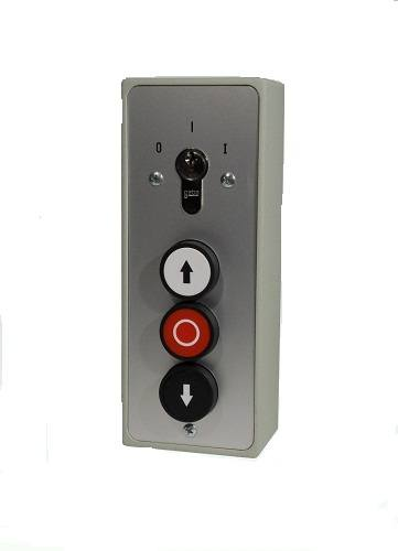 GEBA key switch with 3 push button