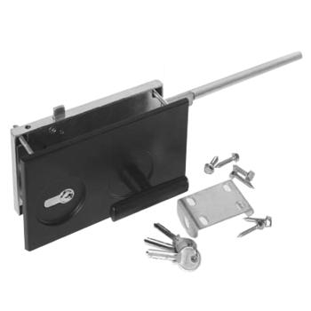 Surface-mounted cylinder lock