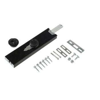 Burglar-resistant cylinder lock, surface mounted