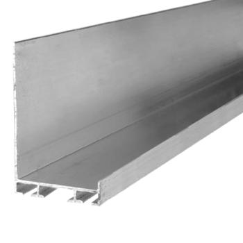 Bottom profile for 40mm panels