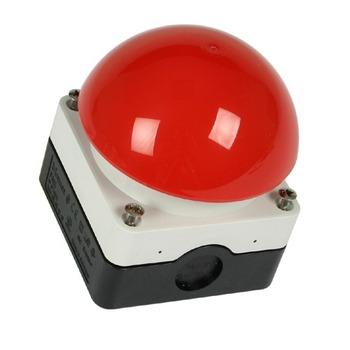 GEBA mushroom button KDT 1B, red