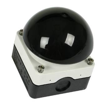 GEBA  Handdruckknopf KDT 1B, Bumper schwarz