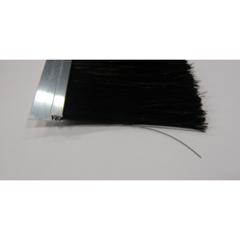 Brush strip, 100mm brush, length = 2500mm