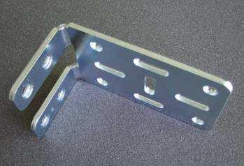 Cladding bracket angled