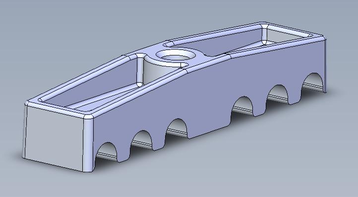 Belt clamping bracket