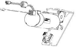Drive unit ATE FTA 20 brake