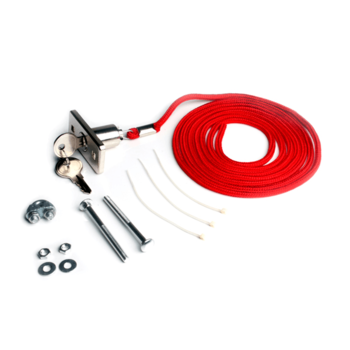 Outside release kit with keys