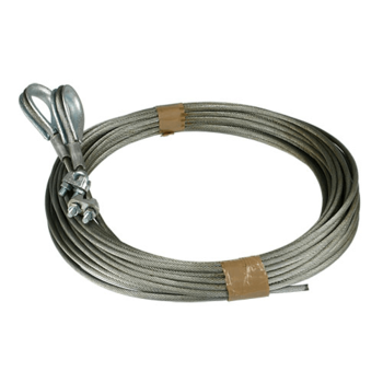 Lifting cable set 4mm, suitable for Hörmann industrial doors, L=7000mm