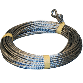 Lifting cable set 5mm, L=9000mm, equipped with thimble