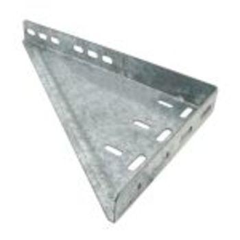 Driehoeksplaat 375x225mm, rechts