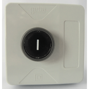 GEBA push button, 1 button