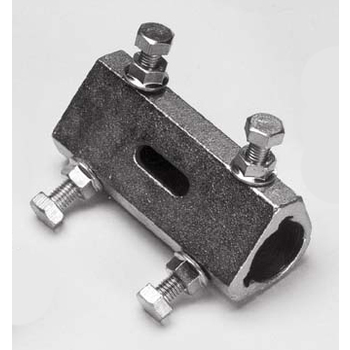 Coupler, solid 1 inch