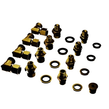 Hydraulikschlauch Verschraubungs Adapter Kit 2