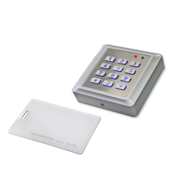 Clavier à code avec carte-clé
