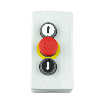 Push button with emergency button