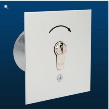 GEBA Unterputz-Schlüsselschalter MSR 1-1T/1