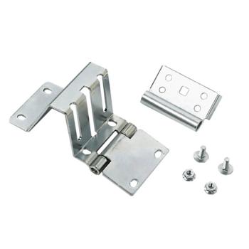 Side hinge, 10mm raised top blade, reversed button