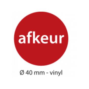 "Aufkleber ""AFKEUR"""