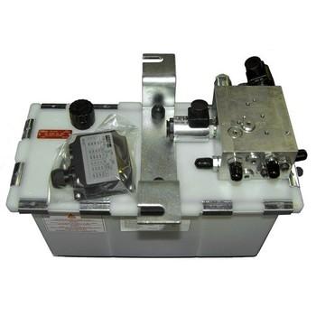 Hydrauliek aggregaat voor teledock, 2 ventielen, 1,5KW