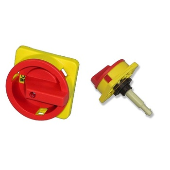 Padlockable handle for main switch