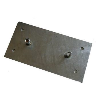 Mounting Plate for bumper 500x250x90mm