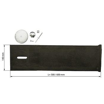 Verstärkungsstreifen für Torabdichtung Breite 600mm