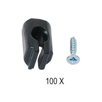 Teeth with screw 100pcs kit