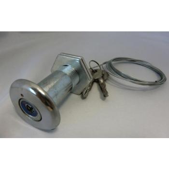 Noodontkoppeling met sleutel