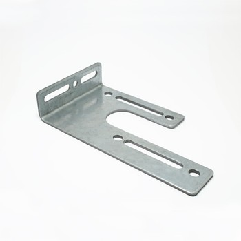 Central bearing plate adjustable, left